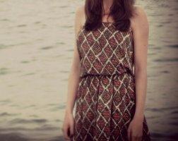 Bandeau Sommer Kleid