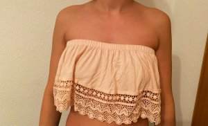 Atmosphere Top bandeau rosa claro