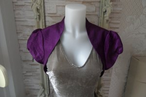 Barbara Schwarzer Short Blazer purple polyester