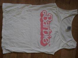 Canotta fitness rosa-bianco Cotone