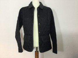 Barbour Quilted Jacket black mixture fibre