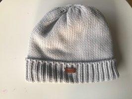 Barbour Sombrero de punto gris claro Algodón
