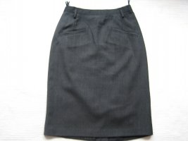 bardehle rock grau bleistiftrock gr. s 36 Wolle
