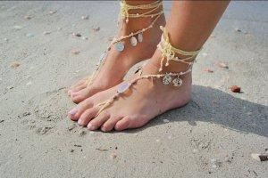 barfuss Sandalen barefoot sandals ibiza