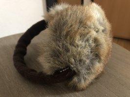 Barts Cache-oreilles brun foncé-chameau