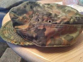 Cappello da aviatore grigio-verde-verde scuro