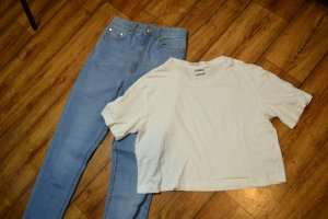 Basic Cropped T-Shirt Gr. 38 Urban Classics