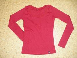 Basic langarm Shirt, rot, Gr.36, Madonna (68-GV)