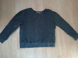 C&A Basics Kraagloze sweater grijs