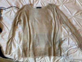 Basic Pullover Gold Glitter Schimmer