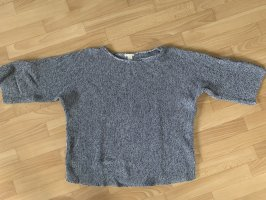 H&M Short Sleeve Sweater cornflower blue-azure