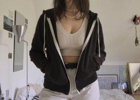 Basic schwarze Jacke von h&m