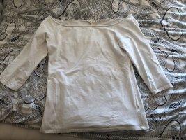 H&M Top épaules dénudées blanc