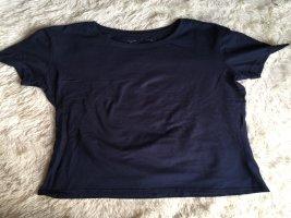 Basic Shirt dunkelblau