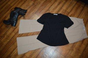Basic T-Shirt schwarz Gr. 38 Nakd
