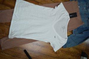 Basic T-Shirt weiss 38 Hollister