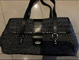Bolso tipo cesta negro