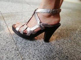 Bata Sandales argenté