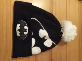 New Era Chapeau en tricot blanc-noir