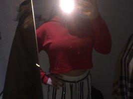 H&M Sudadera navideña rojo