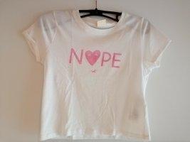 Bauchfreies T-shirt von Hollister