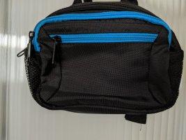 Riñonera negro-azul claro