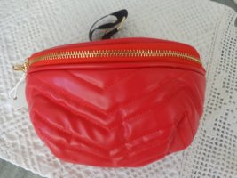 Bumbag red mixture fibre