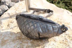Bauchtasche Umhängetasche crossbody bag Silber Tasche