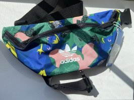 Adidas Bumbag neon blue-forest green