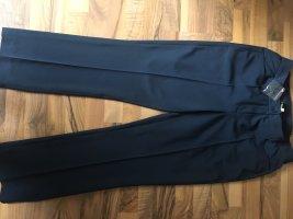 Alfredo Pauly Stoffen broek donkerblauw