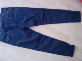 Spodnie z pięcioma kieszeniami niebieski Bawełna