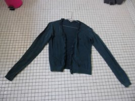 Basefield Short Jacket steel blue mixture fibre