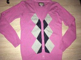 Peckott Veste en tricot multicolore coton