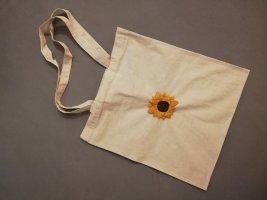 Baumwolltasche Beutel Sonnenblume Flower Vintage