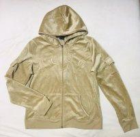 BCBG Maxazria Giacca con cappuccio beige chiaro-oro