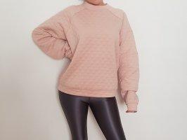 BCBG Oversize Sweater Pullover Rosa Rose L cute hipster designer hochwertig