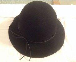 BCBG Maxazria Woolen Hat black wool