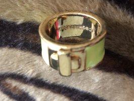 BCBG Maxazria Gold Ring neon green-gold-colored