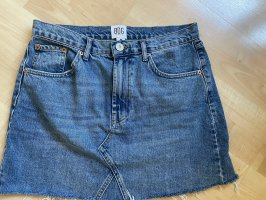 BDG Gonna di jeans blu