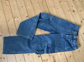 BDG Jeans a vita alta blu scuro Cotone