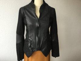 Be Edgy Biker Jacket black leather