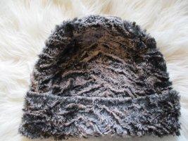 Beanie multicolored mixture fibre