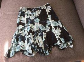 bebe Silk Skirt multicolored