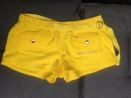Bebe Sports Shorts gelb Größe M