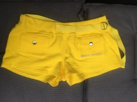 bebe Sport Shorts yellow