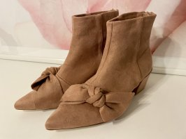 Bebo Cut Out Booties rose-gold-coloured