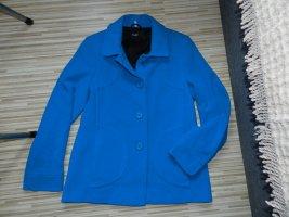 BECK Wool Jacket blue wool