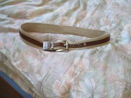 Armani Stoffen riem zandig bruin-bruin