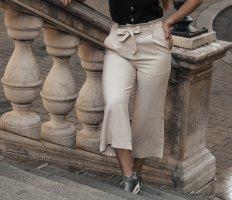 Vero Moda Falda pantalón de pernera ancha multicolor