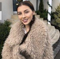 Primark Fur Jacket beige
